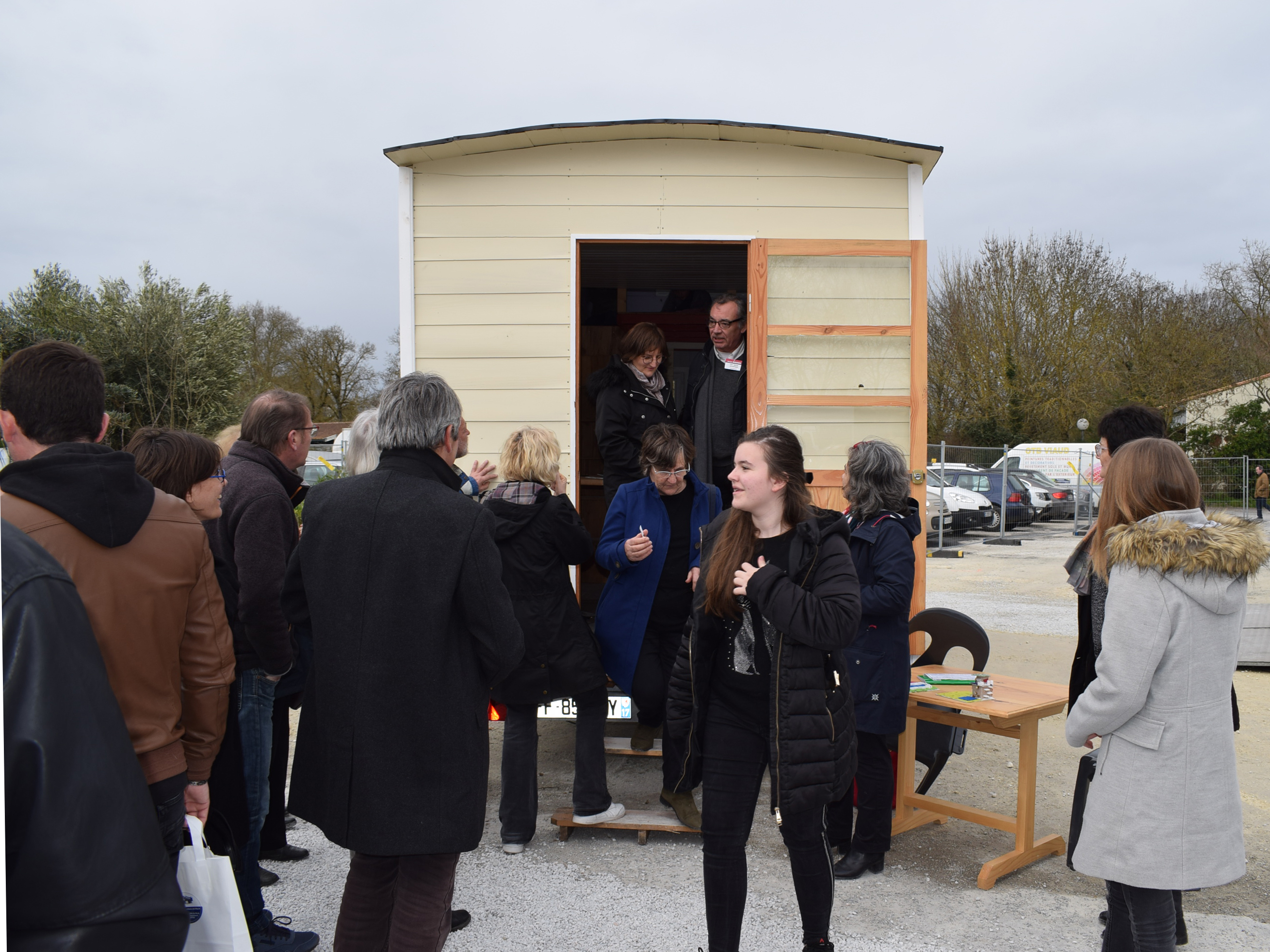 Notre Tiny House au salon de Saintes